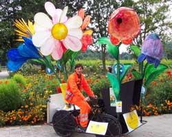 Blumenwagen Rosinante